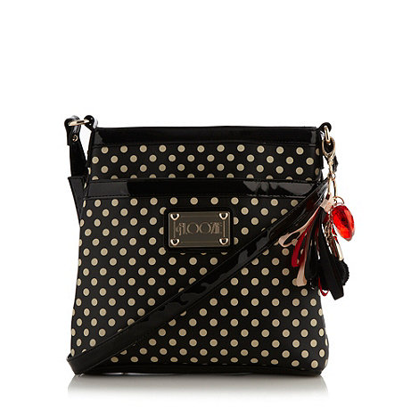 Floozie by Frost French - Black spotted cross body bag