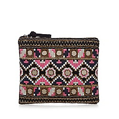 Butterfly by Matthew Williamson - Multi-coloured bead embellished clutch bag