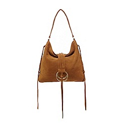 Nine by Savannah Miller - Tan leather shoulder bag