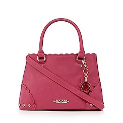 Floozie by Frost French - Pink scallop diamante grab bag