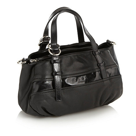 ILEX - Black panelled striped grab bag