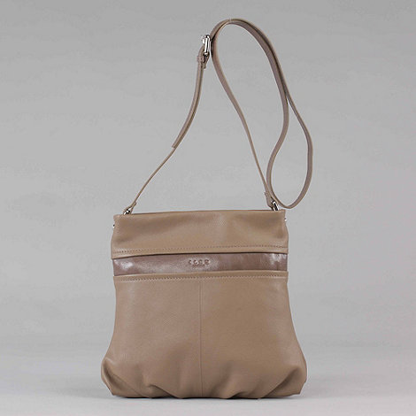 ILEX - Cream +colorado+ leather across body bag