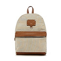Call It Spring - White 'Froozy' backpack