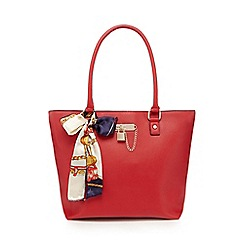 Call It Spring - Red 'Petiole' tote bag