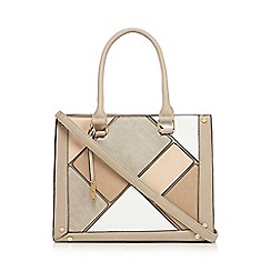 Call It Spring - Taupe 'Rubybarb' tote bag