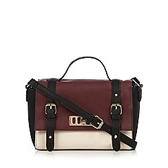 Call It Spring - Dark red 'Rumson' satchel bag