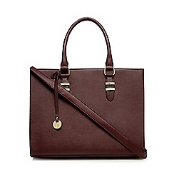 Call It Spring - Dark red 'Toquerville' large tote bag