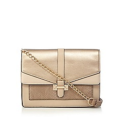 Call It Spring - Rose gold 'Querceto' cross body bag