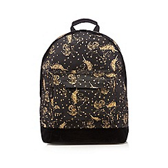 Mi-Pac - Black unicorn print 'Classic' backpack