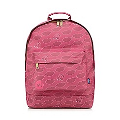 Mi-Pac - Dark pink cherry print backpack