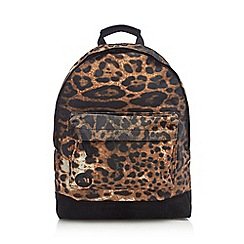 Mi-Pac - Multi-coloured jaguar print 'Classic' backpack