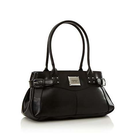 Fiorelli - Near black crosshatched shoulder bag