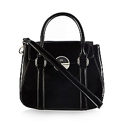 The Collection - Black patent grab bag