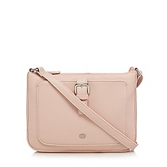 The Collection - Pink front buckle cross body bag