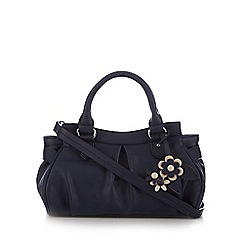 The Collection - Navy corsage charm grab bag