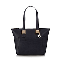 The Collection - Navy side pocket grab bag