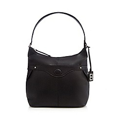 The Collection - Black leather shoulder bag