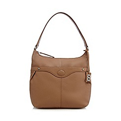 The Collection - Tan leather shoulder bag