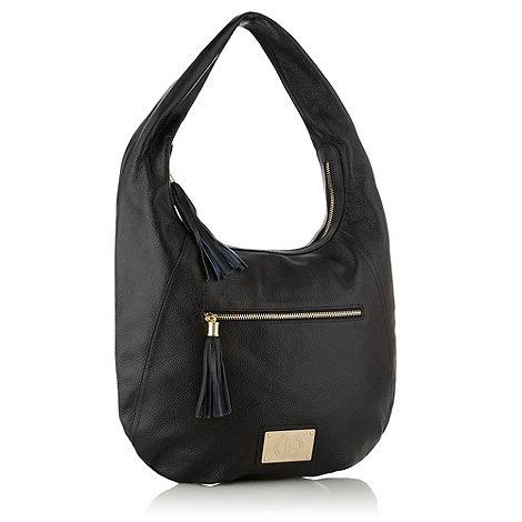Jack French - Black motcomb across body bag