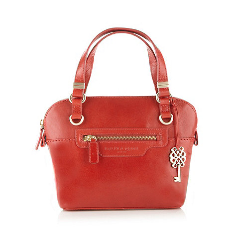 Bailey & Quinn - Red leather +Devon+ small tote bag