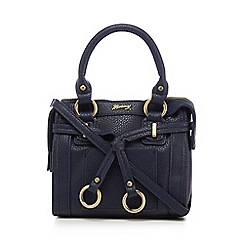 Mantaray - Navy belted cross body bag