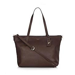 Fiorelli - Dark brown 'Dahlia' tote bag