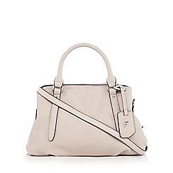 Fiorelli - White 'Primrose' triple compartment grab bag
