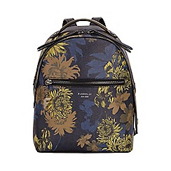 Fiorelli - Navy floral print small backpack