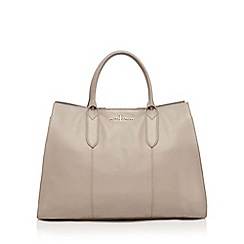 J by Jasper Conran - Taupe large tote bag