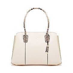 J by Jasper Conran - Pink three section large grab bag