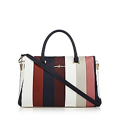 J by Jasper Conran - Dark red colour block grab bag