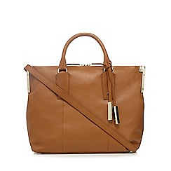J by Jasper Conran - Tan leather tote bag