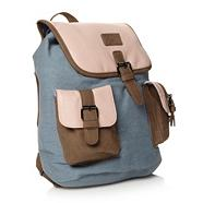 Designer Light Blue Denim Backpack