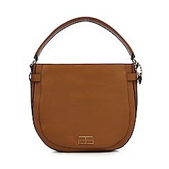 J by Jasper Conran - Tan leather shoulder bag