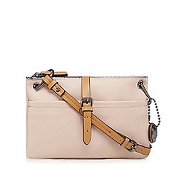 J by Jasper Conran - Pink contrasting trim cross body bag