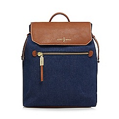 J by Jasper Conran - Blue denim backpack