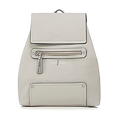 J by Jasper Conran - Grey logo backpack