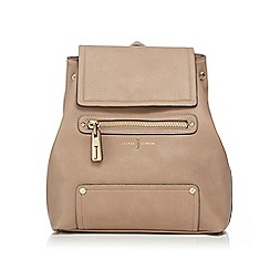 J by Jasper Conran - Tan logo backpack