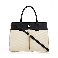 Star by Julien Macdonald - Cream quilted tote bag