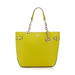 Star by Julien Macdonald - Yellow ring detail shopper bag