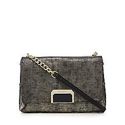 Star by Julien Macdonald - Metallic textured shoulder bag