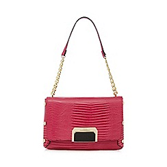 Star by Julien Macdonald - Pink textured shoulder bag