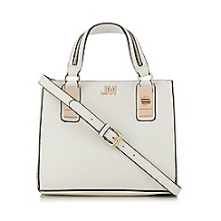 Star by Julien Macdonald - White zip top handle cross body bag