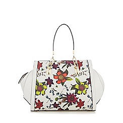 Star by Julien Macdonald - Multi-coloured floral print bowler bag