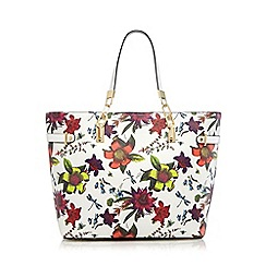 Star by Julien Macdonald - White floral print shopper bag