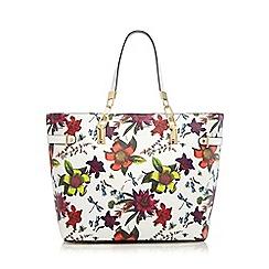 Star by Julien Macdonald - White floral print shopper bag