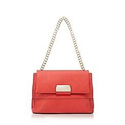 Star by Julien Macdonald - Orange double flap over shoulder bag