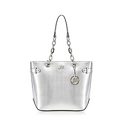 Star by Julien Macdonald - Silver shopper bag