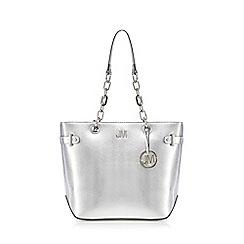 Star by Julien Macdonald - Silver shopper bag