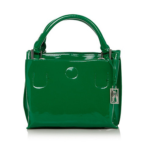 Principles by Ben de Lisi - Designer green patent three part grab bag